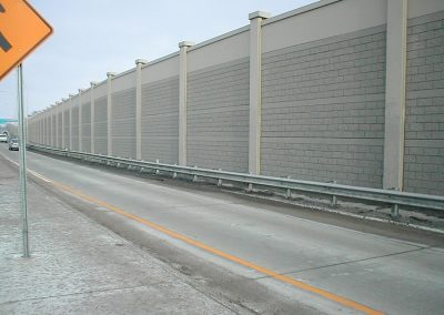 Verti-Crete Prefabricated Concrete Wall Commercial Sound Wall
