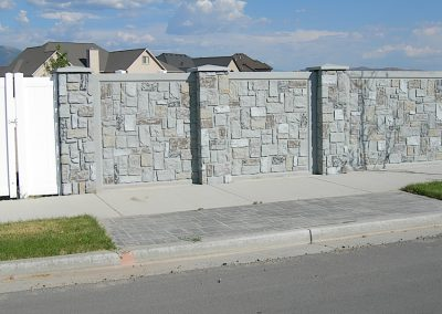 zVerti-Crete Prefabricated Concrete Wall Split End Panel Ashlar