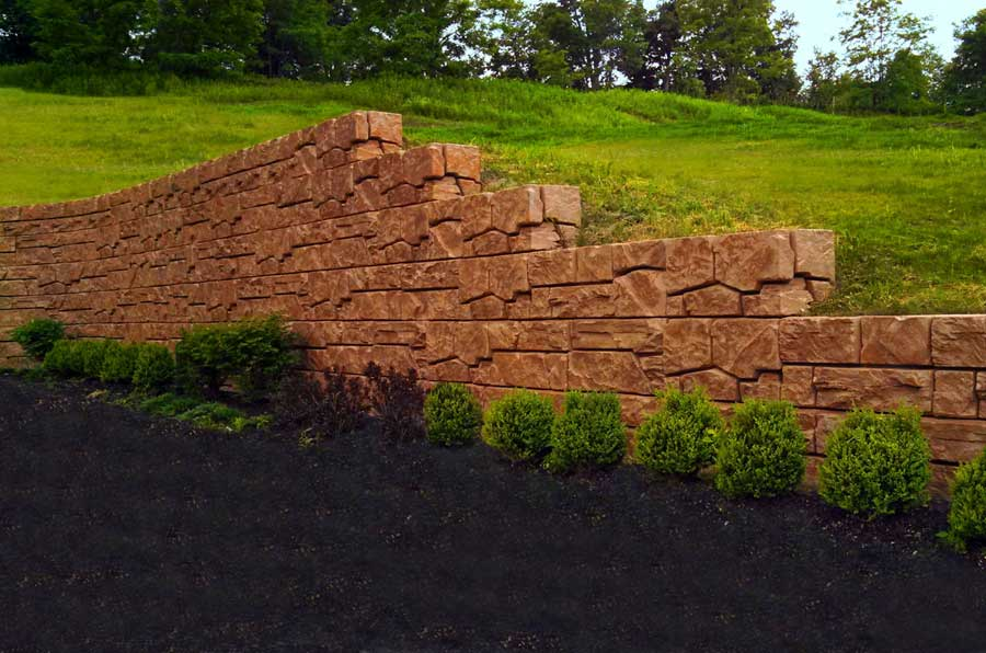 Verti-Block SD - Concrete Retaining Wall Construction